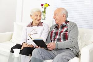 Hausbesuch in Seniorenresidenzen